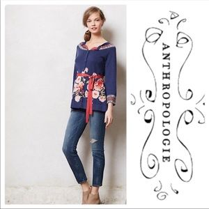 Anthropologie Sparrow Burgeoning Cardigan